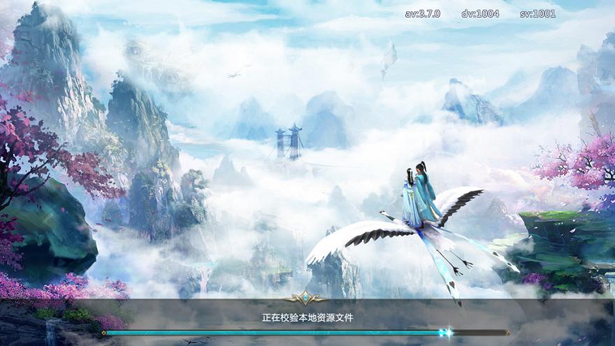 游戏进去后开始有显示游戏画面,一会就是蓝屏